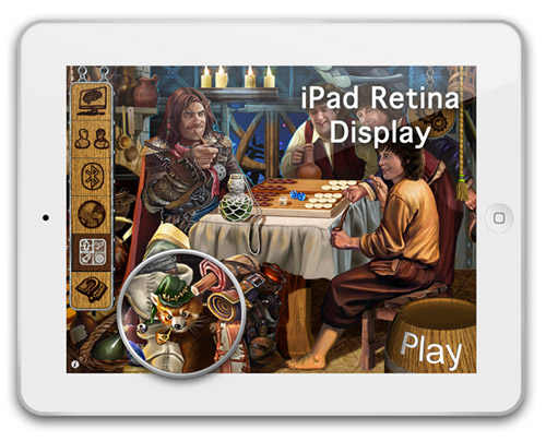 retina news Masters of Backgammon HD